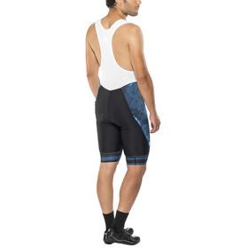 Shimano Breakaway Bib Shorts Heren, neon blue